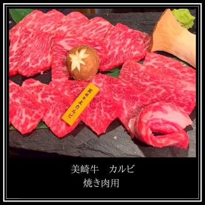 【上】美崎牛カルビ 500g(焼肉用)