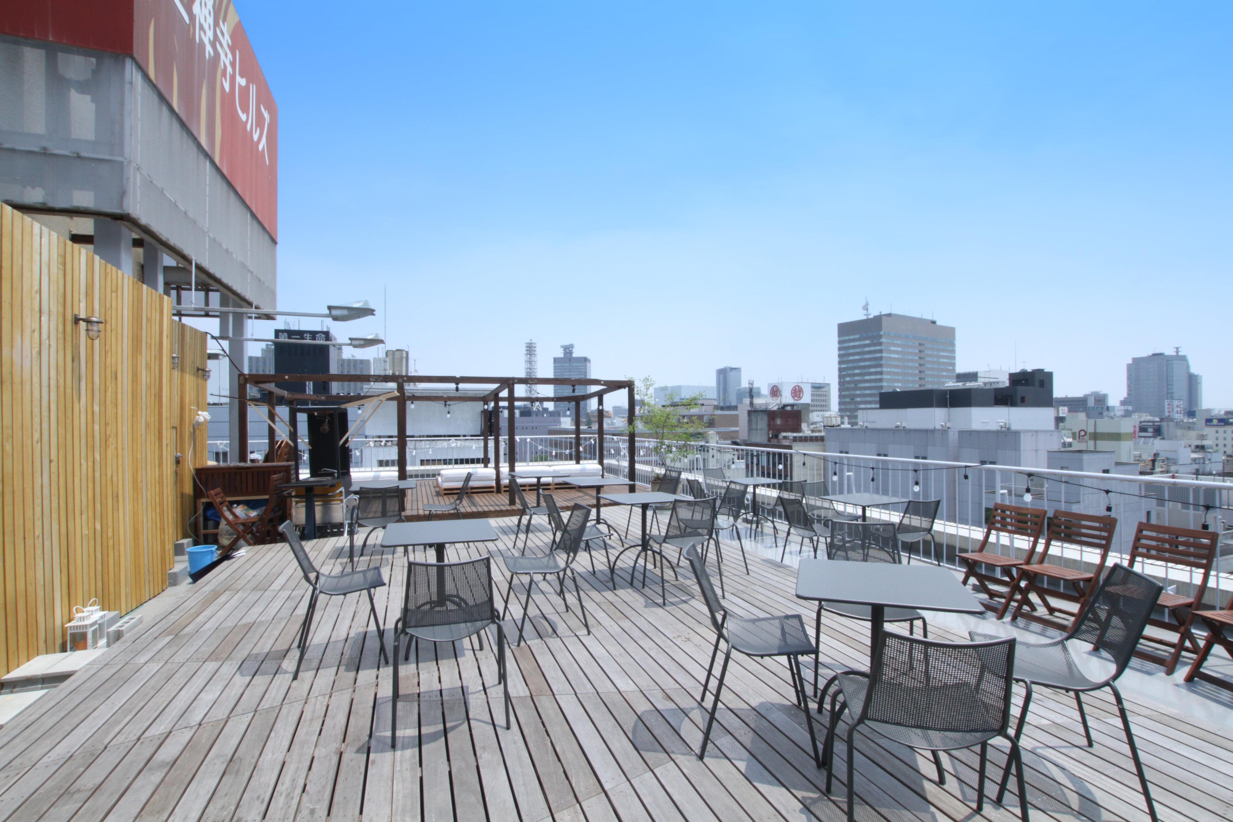 ROOF GARDEN(ルーフガーデン):定禅寺通りを上から望める贅沢な屋上空間のイメージその3