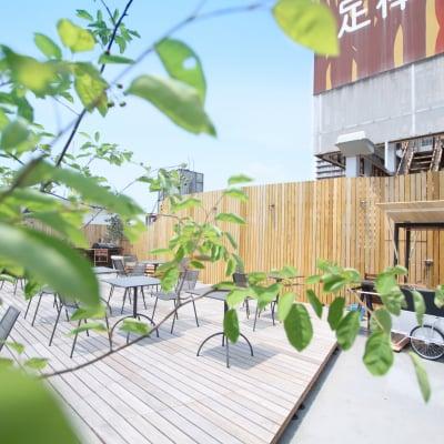 ROOF GARDEN(ルーフガーデン):定禅寺通りを上から望める贅沢な屋上空間