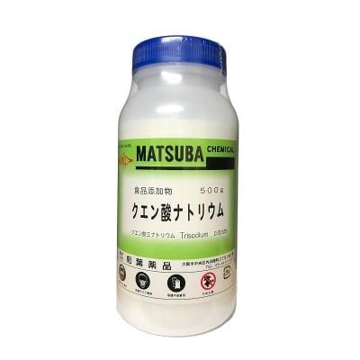 クエン酸ナトリウム 500g【食品添加物】