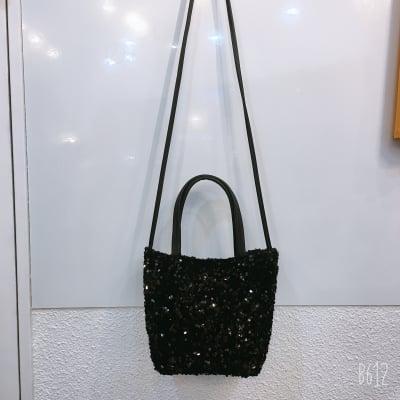 キラキラ スパンコールバッグ