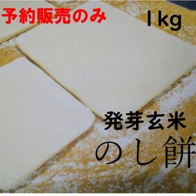 予約販売年末受け渡し◆発芽玄米のし餅◆1kg◆無添加