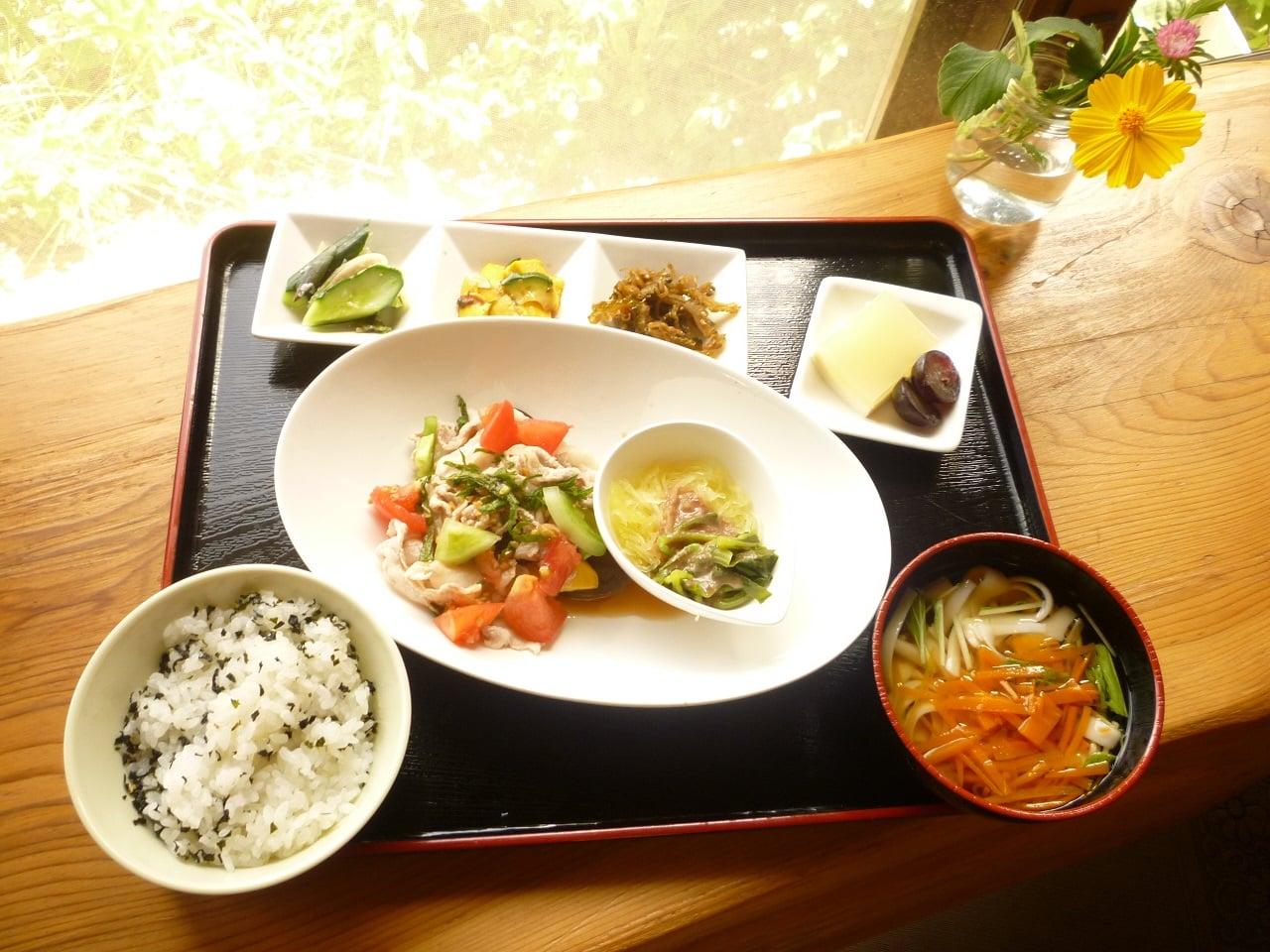 テレビ出演記念ポイント2倍!◆現地払◆農家レストラン菜七色「日替わりランチ」チケットのイメージその1