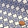 YUWA生地 モロッカン柄(ロイヤルブルー)布110cm×50cm〜