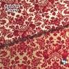 人気のモダmoda|ファブリック110cm×50cm〜|CINNABERRY ダマスク柄2色|カルトナージュの材料に♪