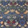 【人気のウィリアムモリス】moda|William Morris ファブリック110cm×50cm〜|BEST OF MORRIS / STRAWBERRY THIEF ウィリアムモリス いちご泥棒 マルティックブルー |カルトナージュの材料に♪