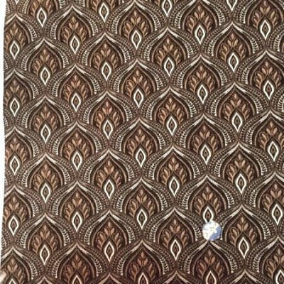 人気のモダmoda|ファブリック110cm×50cm〜MAVEN /ONYX オニキス 黒系|カルトナージュの材料に♪