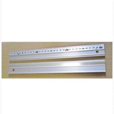 カルトナージュに最適♪アルミ定規■45cm「アル助」すべり止め付きアルミ直尺■