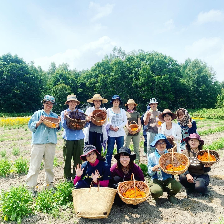 オーガニックハーブ収穫体験inLienfarmのイメージその3
