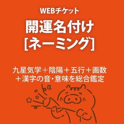 【開運名付け】陰陽+五行+画数+読みなどで総合鑑定