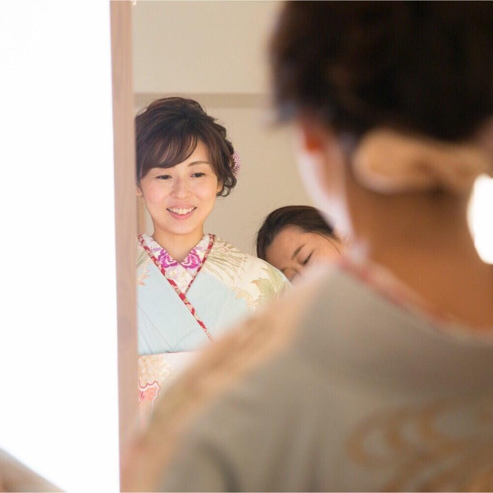 オプション[ママのキレイを叶えるセット]ヘアセット•メイク•着付けのイメージその1