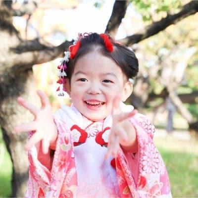 3歳 初めてのお姫様プラン 土日お参りコース (お子様お支度セット)