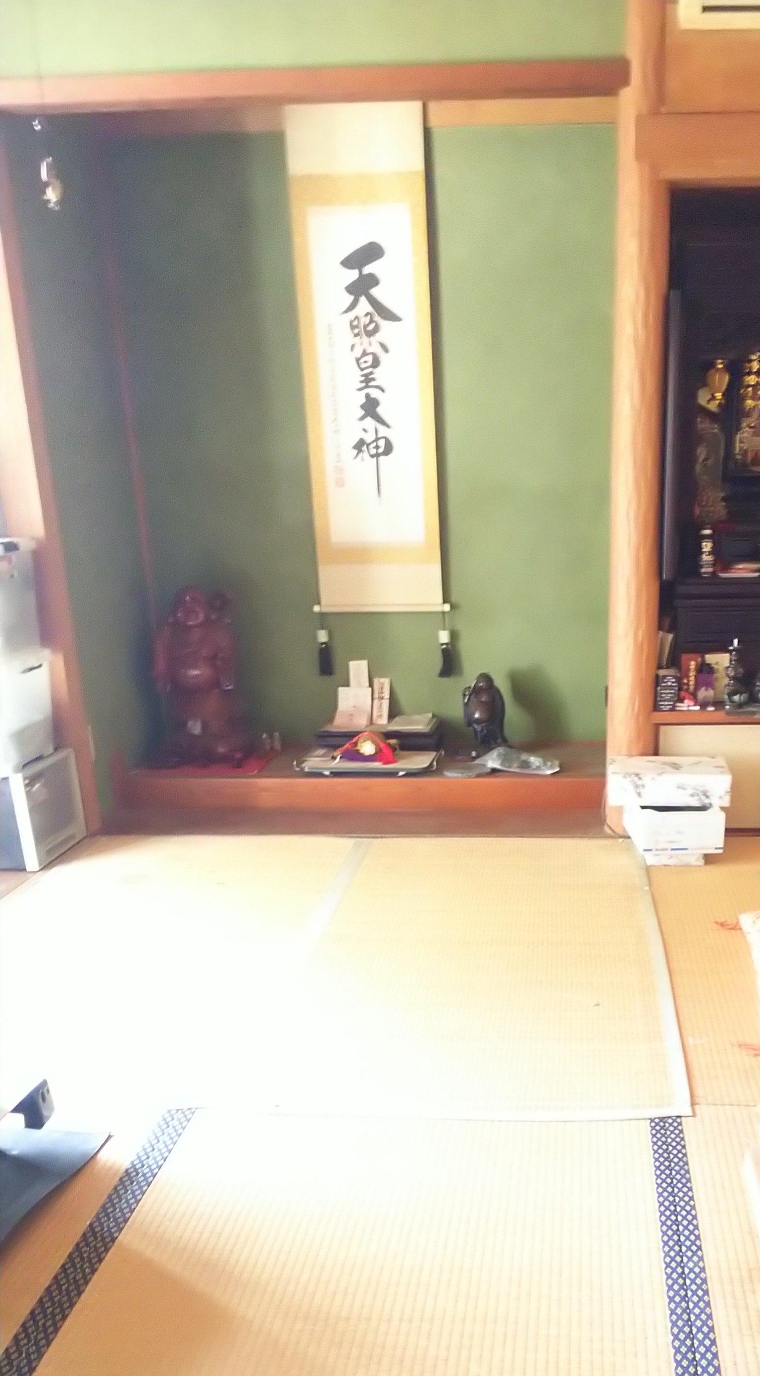 和室お片づけのイメージその1