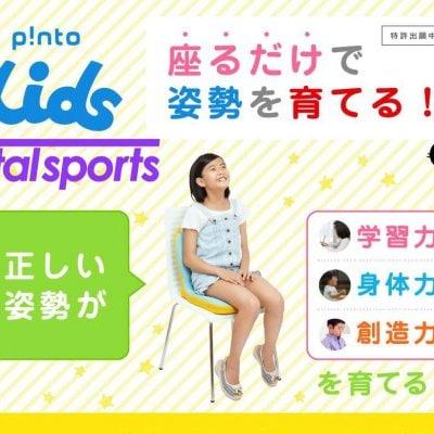 ピントキッズ【子供の集中力と体幹がアップするクッション】