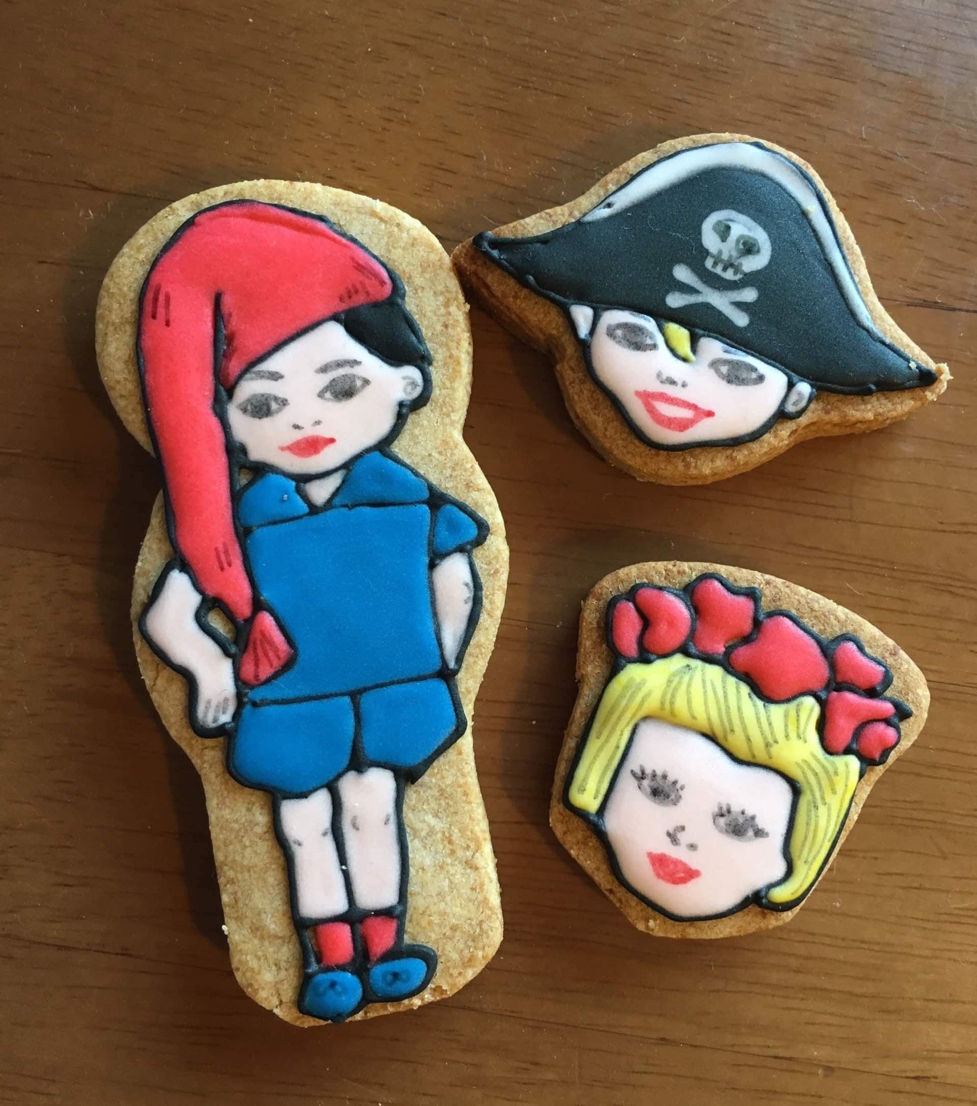 【個人様向け】N様 オーダーアイシングクッキー(バ)のイメージその2