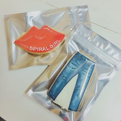 【企業様向け】SPIRALGIRL様 オーダーアイシングクッキー
