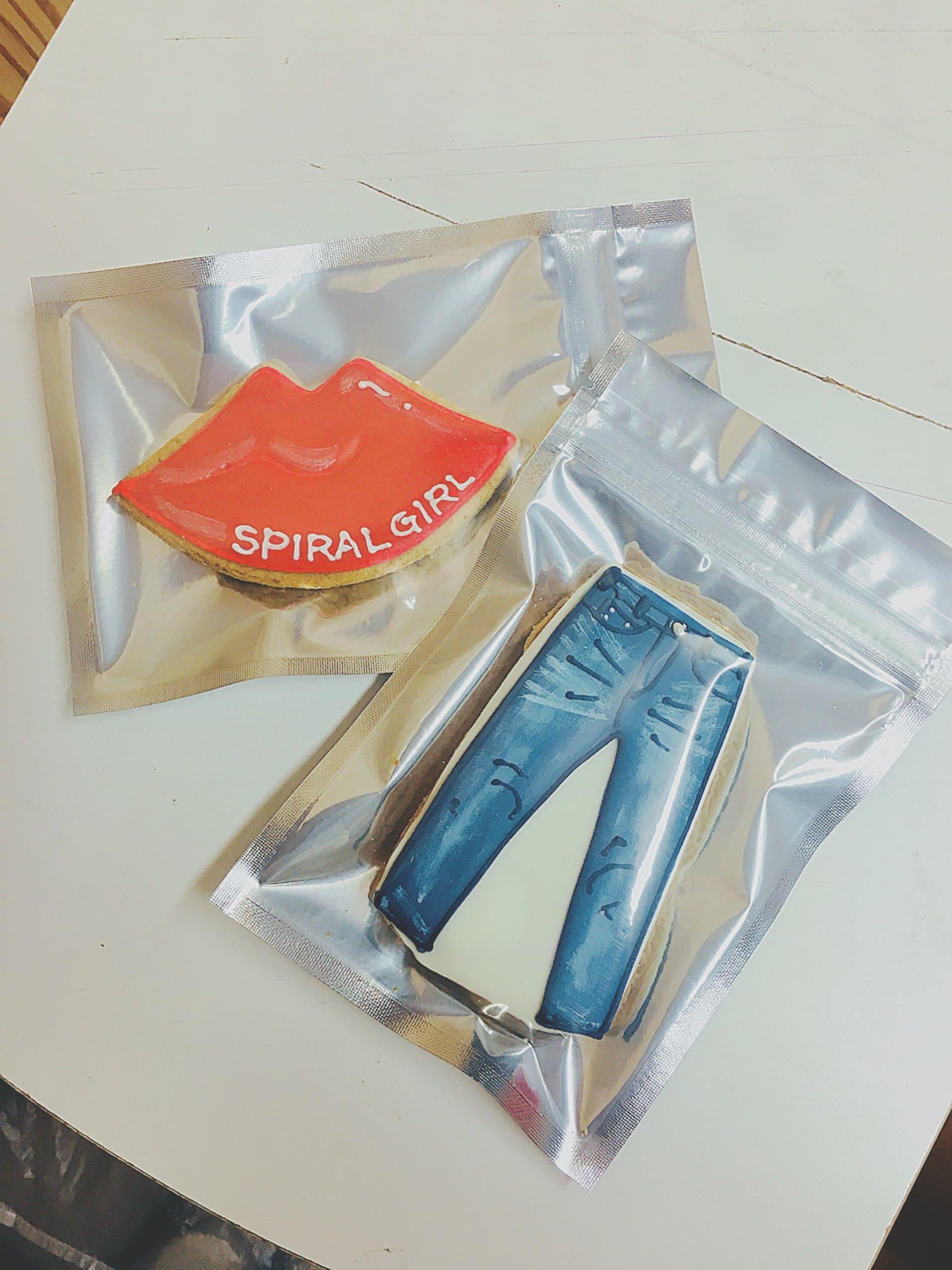 【企業様向け】SPIRALGIRL様 オーダーアイシングクッキーのイメージその1