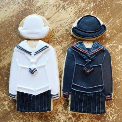 【個人様向け】モロ様 オーダーアイシングクッキー(制服)