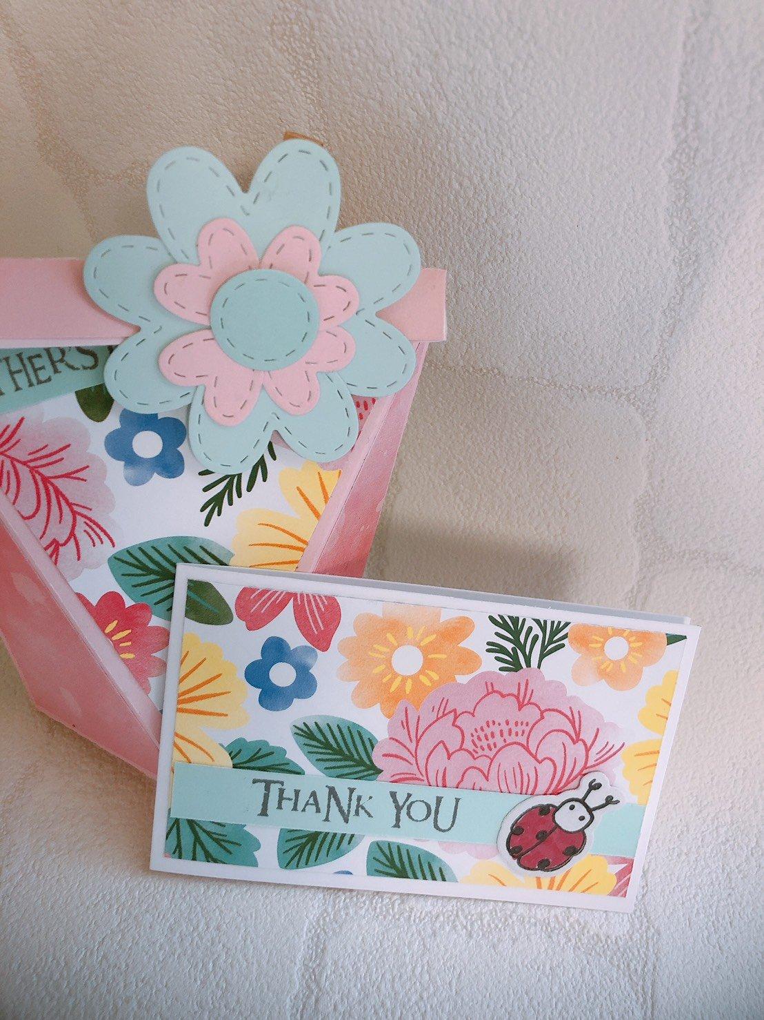 カフェでワークショップ!!焼き菓子ボックス&メッセージカード作り☆L'Ours米粉焼き菓子セット付き 第一部(10:30〜12:30)のイメージその3