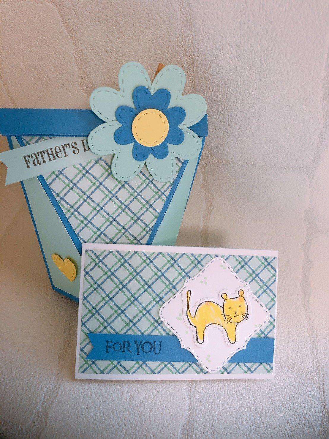 カフェでワークショップ!!焼き菓子ボックス&メッセージカード作り☆L'Ours米粉焼き菓子セット付き 第一部(10:30〜12:30)のイメージその2