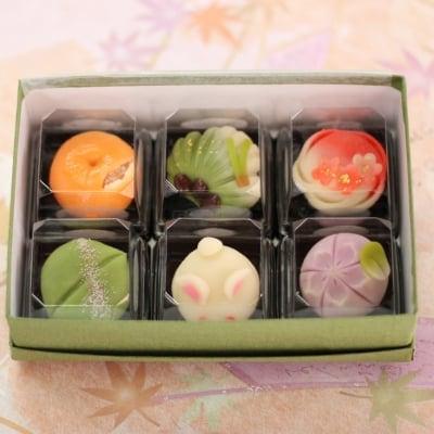 (クール送料込み)季節の上生菓子 今なら、季節の和菓子をおまけでお...