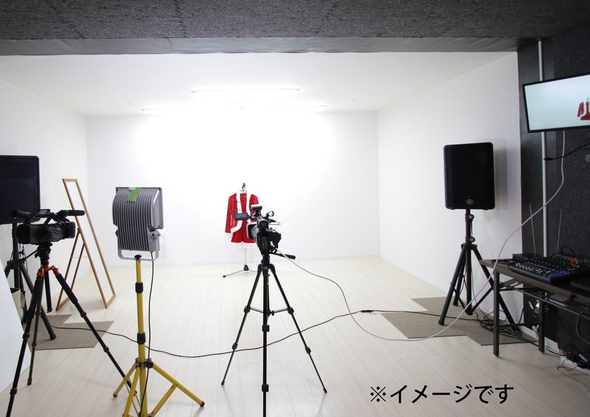 動画撮影スタジオ利用チケット(60分)(動画撮影機材一式)(鳥取県)のイメージその1