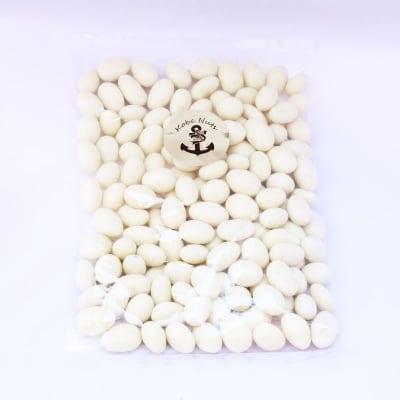 訳あり高級ホワイトアーモンドチョコレート500g×1袋/高級チョコのB級品徳用袋