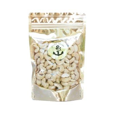 素焼きカシューナッツ 130g×1袋/食塩無添加・スタンドパック