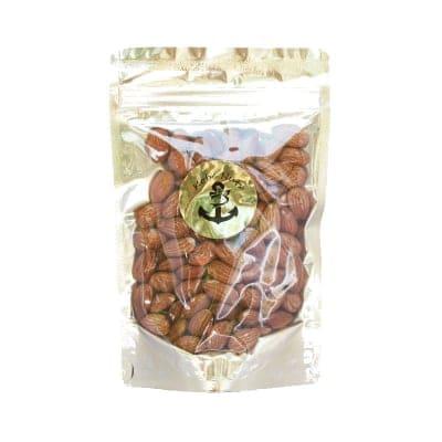 【現地払い専用】素焼きアーモンド 150g×1袋/食塩無添加・スタンドパック