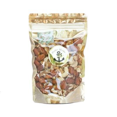 3種素焼きミックスナッツ150g×1袋入り/食塩無添加•スタンドパック