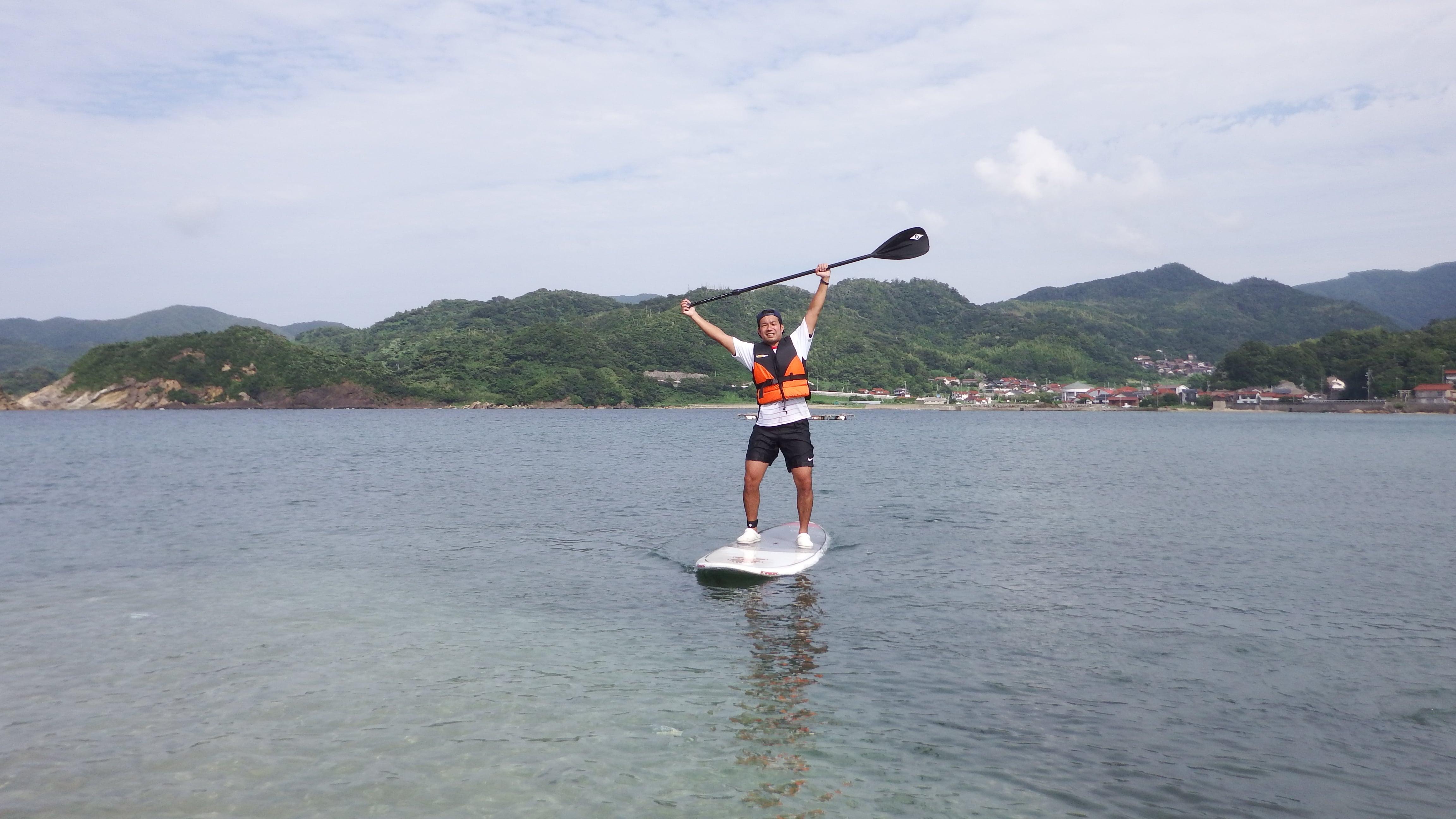 松江サップ(Matsue  Sup)SUP(サップ)4時間レンタルのイメージその1