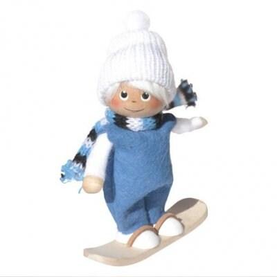 【Nordika Gift】 スノーボードに乗った男の子
