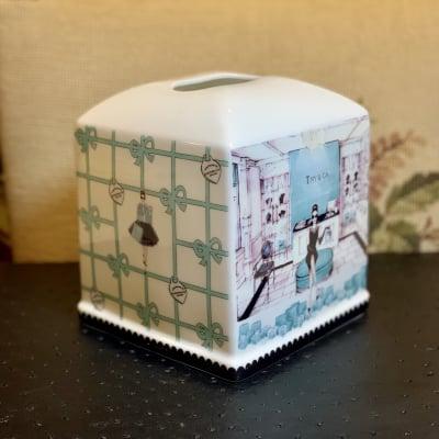 A様専用 ポーセラーツ   ティッシュボックス