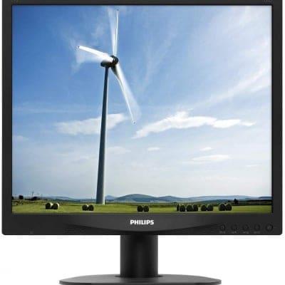 Philips ディスプレイ 17S4LAB/11 ブラック 17インチ/スクエア/5ms/スピーカー付/5年保証