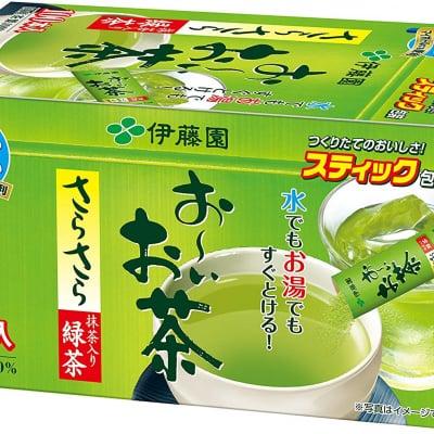 伊藤園 おーいお茶 抹茶入りさらさら緑茶 0.8g×100本 (スティックタイプ)