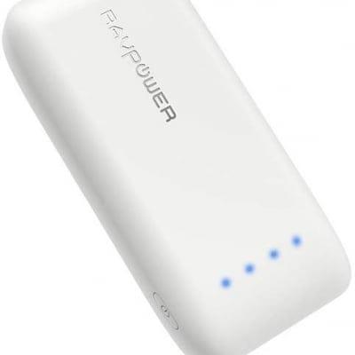 RAVPower 6700mAh モバイルバッテリー 急速充電 (最小 最軽量 /2019年8月時点) iPhone/Andorid 等対応 携帯充電器 ポータブル充電器 【18ヶ月間安心保証】 iSmart2.0機能搭載 RP-PB060 (白)