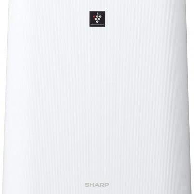 シャープ 加湿 空気清浄機 プラズマクラスター 7000 スタンダード 13畳 / 空気清浄 23畳 花粉 ホワイト KC-H50-W