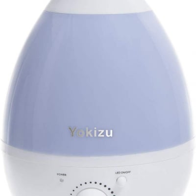 Yokizu 加湿器 卓上 アロマ 大容量 超音波式 しずく型 6-9畳 朝まで連続稼働 LEDライト 寝室 リビング 静音 空気清浄 乾燥対策 省エネ 空焚き防止 360°ミスト調整可能 オフィス 会社 家庭用 小型 シンプル おしゃれ