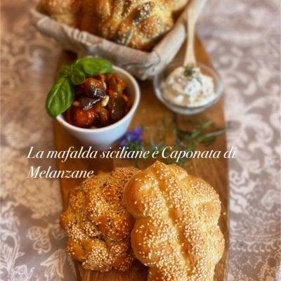 ビデオレッスン)6月19日配信予定 シチリアの伝統セモリナパンと絶品ナスのカポーナータとフレッシュチーズレッスン