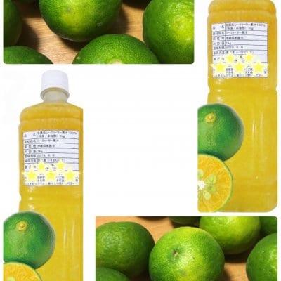 Y様専用 11本セット 沖縄県産シークヮーサー果汁100%冷凍非加熱