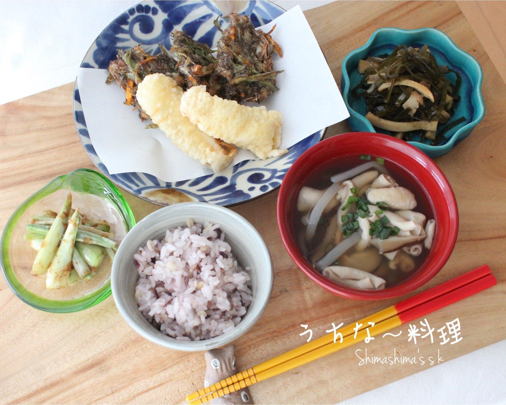 うちな〜料理レッスン レジュメのイメージその1