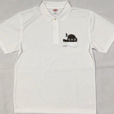【ポロシャツ】【ホワイト】【Mサイズ】|与論島の宿|星砂荘|オリジナル...