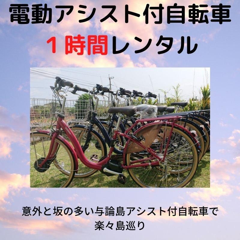 【レンタル】【1時間】電動アシスト自転車【現地決済のみ】のイメージその1