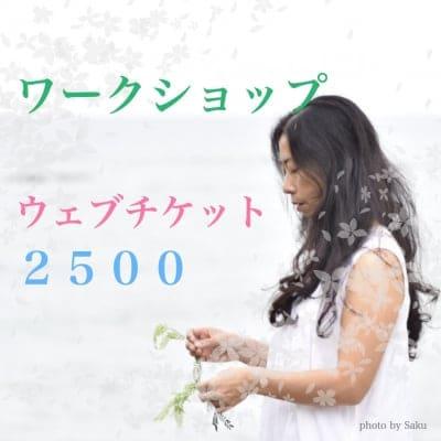 ワークショップ ウェブチケット 2500