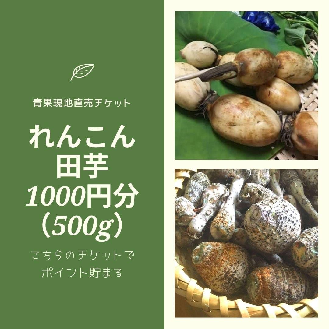 1000円分チケット現地青果購入のイメージその1
