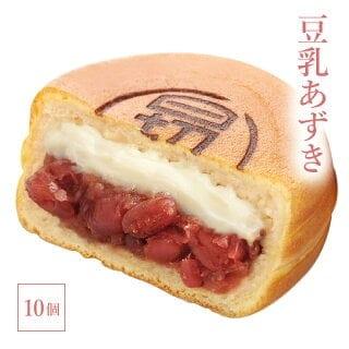 澤井本舗 ひぎりやき 豆乳あずきあん 冷凍 10個