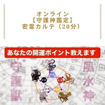 オンライン【守護神鑑定】密霊カルテ(20分)