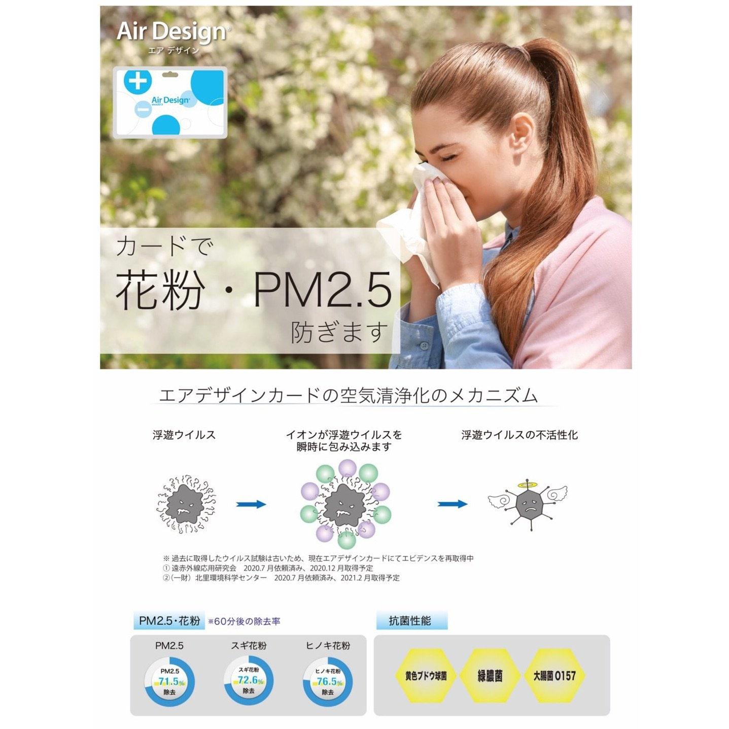 カード式空気清浄機 /AirDesignCard【現地決済専用チケット】PayPay支払い対応可能のイメージその3