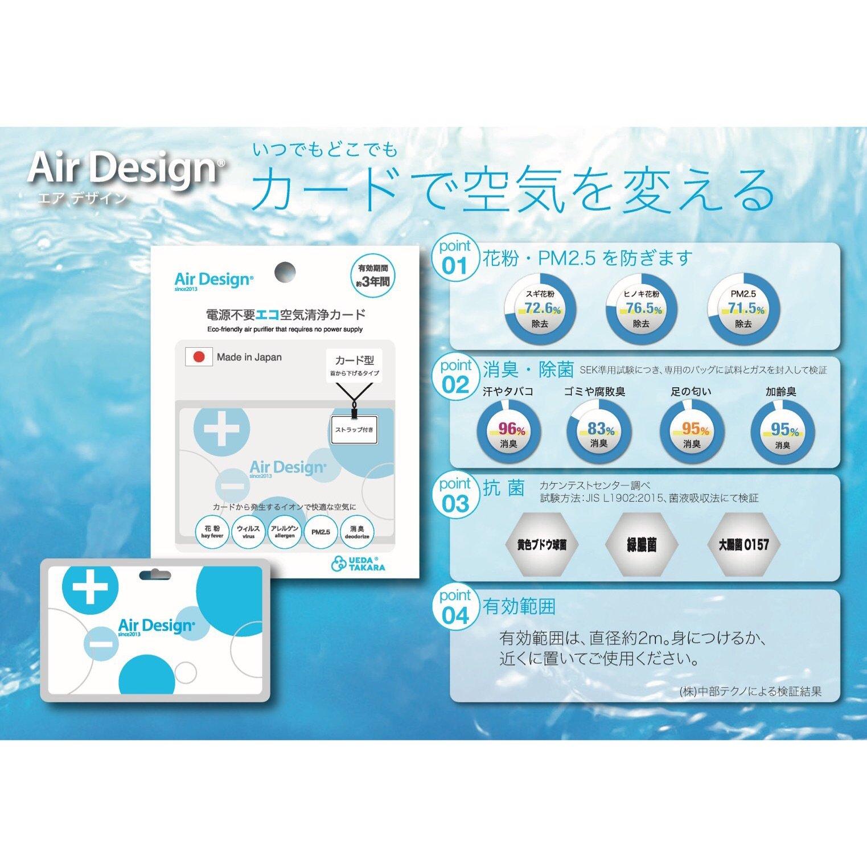 カード式空気清浄機 /AirDesignCard【現地決済専用チケット】PayPay支払い対応可能のイメージその2