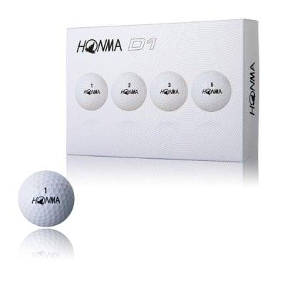 ゴルフボール/ホワイトオレンジイエロー(HONMA)D1DYNAMIC DISTANCE B...